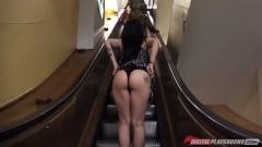 Me gustan las escaleras mecánicas del Corte Inglés.