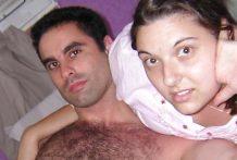 Pareja debuta en el porno casero