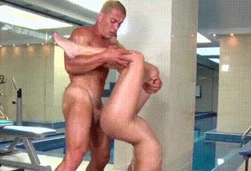 Postura sexual para yoga