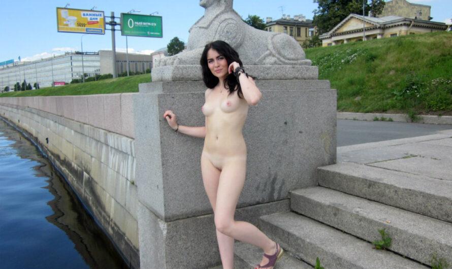 Fotos de chicas desnudas en la calle y en público